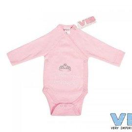 Very Important Baby Very Important Baby - Romper Ik ben een prinsesje (roze)