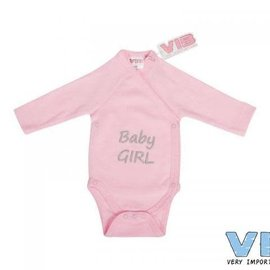 Very Important Baby Very Important Baby - Romper Baby girl (roze)