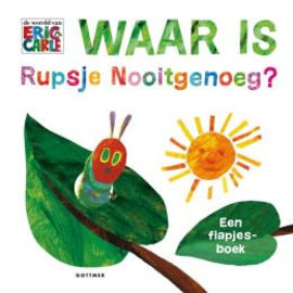 ikkemikke Waar is Rupsje Nooitgenoeg? (karton flapboek)