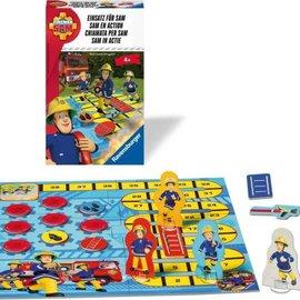 Brandweerman Sam Brandweerman Sam Ravensburger Spel:  Sam in Actie