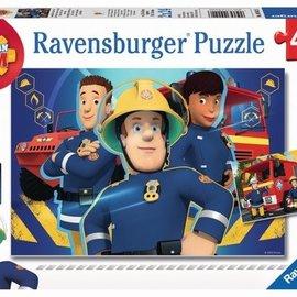 Ravensburger Ravensburger puzzel Brandweerman Sam - Sam helpt je uit de Brand (2x 24 stukjes)