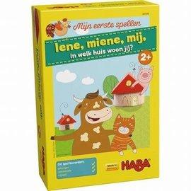 Haba Haba 301936 Mijn eerste spellen - Iene, miene, mij, in welk huis woon jij?