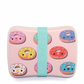 Petit Monkey Petit Monkey Lunchbox Donuts Pink Bamboo