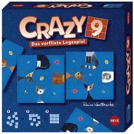 Heye Heye puzzel Crazy 9 Cats puzzelspel