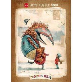 Heye Heye puzzel Spring Time - Zozoville (1000 stukjes)
