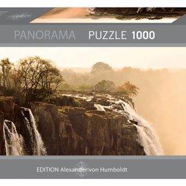 Heye Heye puzzel Panorama Elephant  (1000 stukjes)