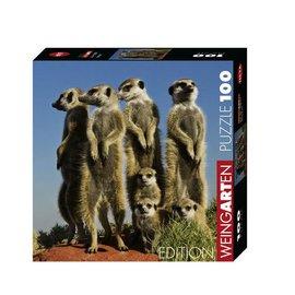 Heye Heye Weingarten Meerkats ( stokstaartjes) (100 stukjes)