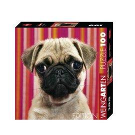 Heye Heye puzzel Weingarten Pug (mopshond) (100 stukjes)