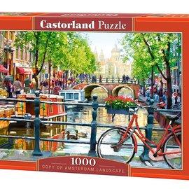 Castorland Castorland puzzel Amsterdamse gracht (1000 stukjes)