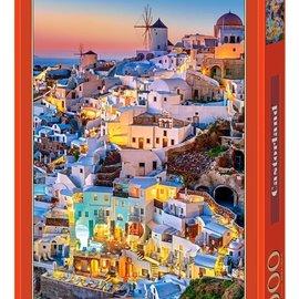 Castorland Castorland puzzel Santorini lights (1000 stukjes)
