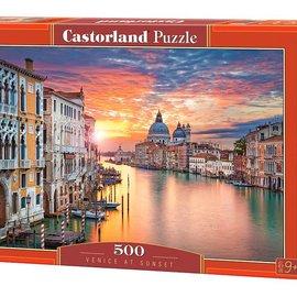 Castorland Castorland puzzel Venetië bij zonsondergang (500 stukjes)