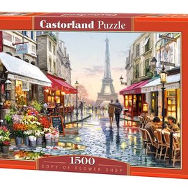 Castorland Castorland puzzel Flower Shop (1500 stukjes)