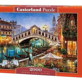Castorland Castorland puzzel Grand Canal Bistro (2000 stukjes)