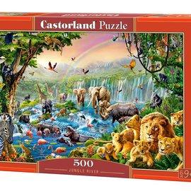 Castorland Castorland Jungle rivier (500 stukjes)