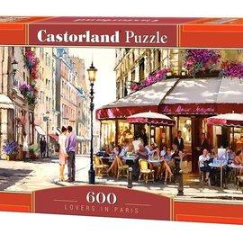 Castorland Castorland puzzel Geliefden in Parijs (600 stukjes)