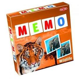Tactic Selecta TacTic Memo Wilde dieren