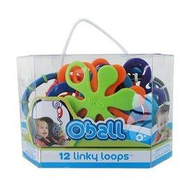 Oball Oball Linky Loops (12 stuks)