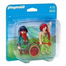 Playmobil Playmobil - Duopack Elf + Dwerg (6842)