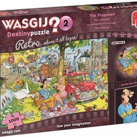 Jumbo Wasgij Destiny Retro 2 - Het aanzoek (1000 stukjes)