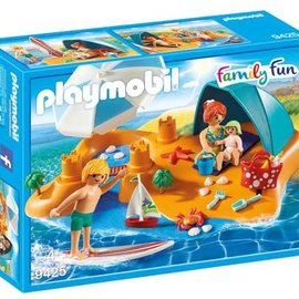 Playmobil Playmobil - Familie aan het strand (9425)