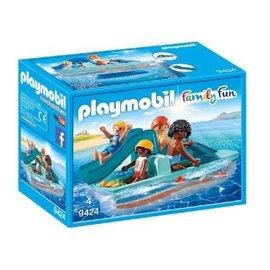 Playmobil Playmobil - Waterfiets met glijbaan (9424)