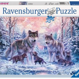 Ravensburger Ravensburger puzzel Arctische wolven (1000 stukjes)
