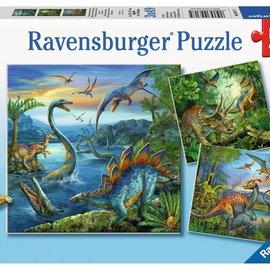 Ravensburger Ravensburger puzzel Dinosauriërs (3x49 stukjes)