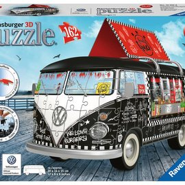 Ravensburger Ravensburger 3D puzzel Volkswagen bus Food Truck (162 stukjes)
