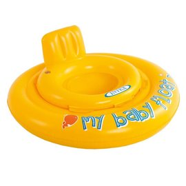 Intex Intex My baby float Ring 1/2-1 jaar diam. 70cm. geel