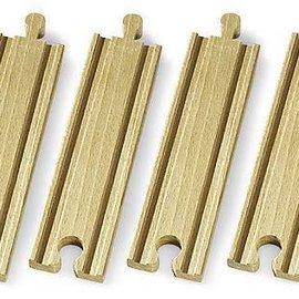 Brio Brio 33335 Middellange rechte rails (4 stuks)