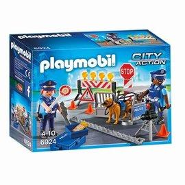 Playmobil Playmobil - Politiewegversperring (6924)