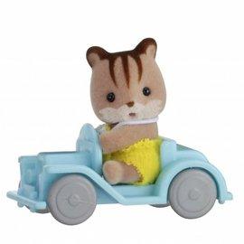 Sylvanian families sylvanian Families - Eekhoorn in auto