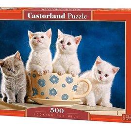 Castorland Castorland puzzel Looking for milk (500 stukjes)