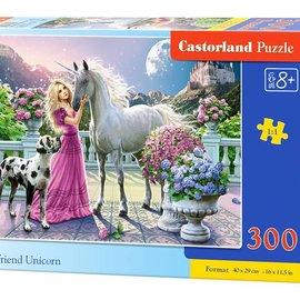 Castorland Castorland Mijn vriend Eenhoorn (300 stukjes)