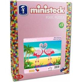 Ministeck Ministeck Flamingo (800-delig)