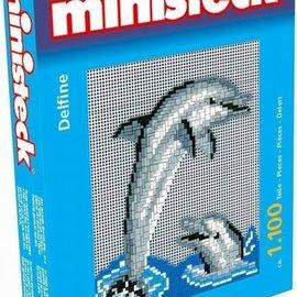 Ministeck Ministeck Dolfijnen. ca. 1100 stukjes