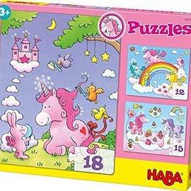 Haba Haba 300299 Puzzel Eenhoorn Fonkelglans