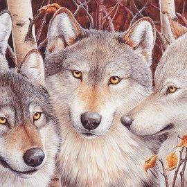 Cobble Hill Wolf Crowd (1000 stukjes)