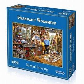 Gibsons Gibsons puzzel Grandad's Workshop (1000 stukjes)
