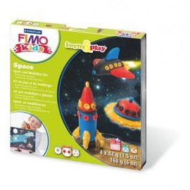 Staedtler Staedtler Fimo kids Klei set Form&Play Space