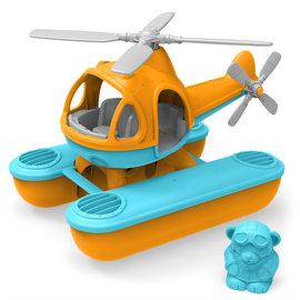 Green Toys Green Toys waterhelikopter oranje
