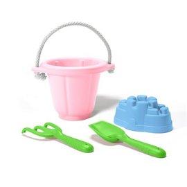 Green Toys Green Toys Zand speelset roze emmer