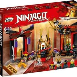 Lego Lego 70651 Troonzaalduel