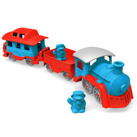 Green Toys Green Toys trein blauw