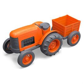 Green Toys Green Toys tractor oranje