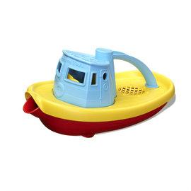 Green Toys Green Toys duwboot, blauw handvat
