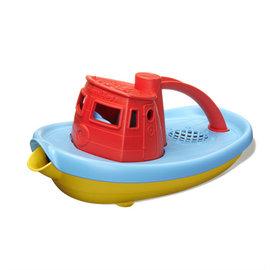 Green Toys Green Toys duwboot met rood handvat