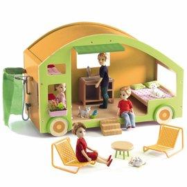 Djeco Djeco 7800 Poppenhuis - Caravan