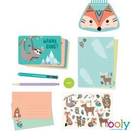 Ooly Ooly - Stationery kit - Bos vrienden