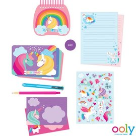 Ooly Ooly - Stationery Kit - Eenhoorn